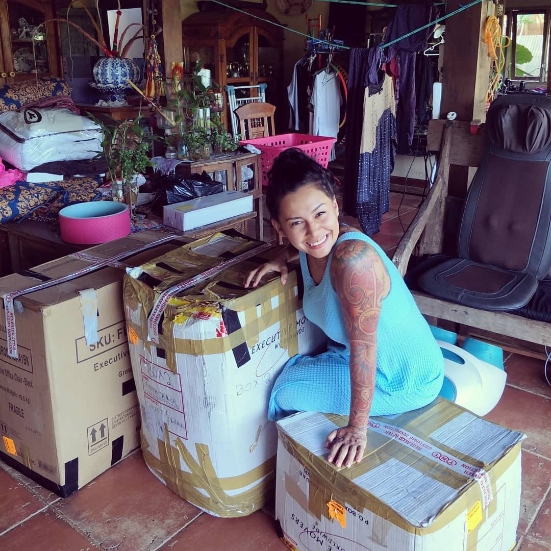 Personal effects from Brisbane